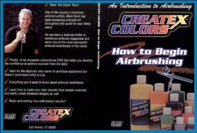 Dvd: Createx How To Begin Airbrushing