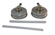 Badger Air-Brush Co. 52-208M 33-Millimetre Metal Adaptor Caps, 2-Pack