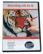 Airbrushing with VL-Double Action Instructional DVD