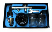 0.35mm Dual action AirBrush Spray Paint Painting Gun Kit Set for Makeup, tattoo, hobby AB128
