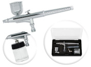Dual-Action 7cc/22cc Side-Feed Airbrush Set - 0.3mm Nozzle