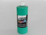 0.9l (950ml) of Opaque Aqua #5206 CREATEX AIRBRUSH colours Hobby Craft Art PAINT