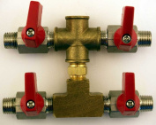 Paasche 4 Outlet Airbrush Manifold