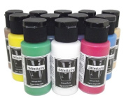 Badger Air-Brush Company Minitaire 12-Colour Paint Starter Set