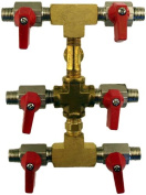 Paasche 6 Outlet Airbrush Manifold