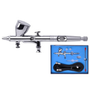Professional 0.3mm Nozzle Dual Action High-end Gravity Feed Airbrush Design with 9cc Fluid Cup