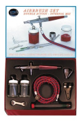 Paasche VLS-SET Double Action Syphon Feed Airbrush Set