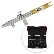 PointZero PZ-1200XS Dual-action Six Airbrush Set w/ Carry Case