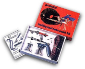 Airbrush Kit contains 3 airbrushes that can be used for almost any applcation