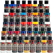 ALL 39 60ml CREATEX WICKED colours AND 60ml REDUCER