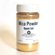 Sepp Leaf Mica Powder Majestic Gold 100ml Bottle
