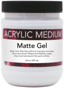 Art Advantage 240ml Acrylic Matte Gel, Medium