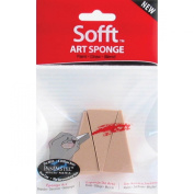 Colorfin PP61023 Sofft Art Sponges, Wedge, 3-Pack