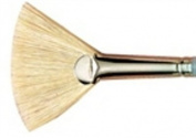 Size 4 Bristle Fan Susan Scheewe Artist Paint Brush By Martin F Weber