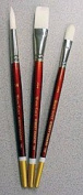 Robert Simmons White Sable Brushes Long Handle 14 bright