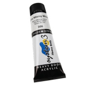 Daler-Rowney System 3 Heavy Body Acrylic 75 ml Tube - Zinc Mixing White