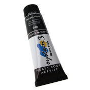 Daler-Rowney System 3 Heavy Body Acrylic 75 ml Tube - Process Black