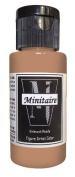 Badger Air-Brush Company, 60ml Bottle Minitaire Airbrush Ready, Water Based Acrylic Paint, Mummy