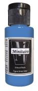 Badger Air-Brush Company, 60ml Bottle Minitaire Airbrush Ready, Water Based Acrylic Paint, Werewolf Grey
