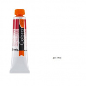 Cobra Study W/M Oil 40Ml Zinc White