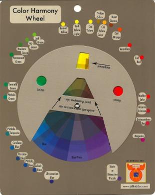 Colour Harmony Wheel
