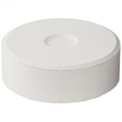 Sax Giant Tempera Paint Cakes - 5.7cm x 1.9cm - Pack of 6 - White
