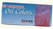 Jackson 12 Ct Oil Paint Tubes