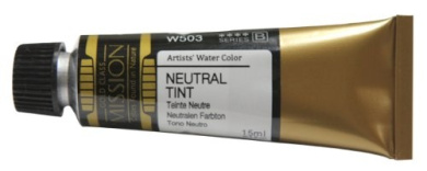 Mission Gold Water Colour, 15ml, Neutral Tint