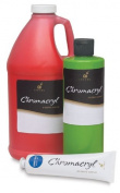 S & S Worldwide Chromacryl Students' Acrylic Paints red oxide pint
