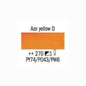 Royal Talens Van Gogh Oil Colour 200 ml Tube - Azo Yellow Deep