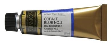 Mijello Mission Gold Class Water Colour, 15ml, Cobalt Blue No.2