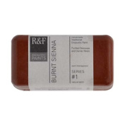 R & F Encaustic 40ml Paint, Burnt Sienna
