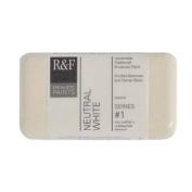 R & F Encaustic 40ml Paint, Neutral White