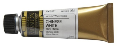 Mission Gold Water Colour, 15ml, Chinese White
