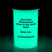 Ultra Blue Glow in the Dark Paint