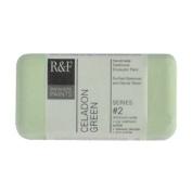 R & F Encaustic 40ml Paint, Celadon Green