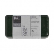 R & F Encaustic 40ml Paint, Courbet Green