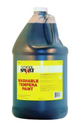 School Smart Washable Tempera Paint - Gallon - Black