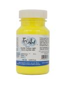 Tri-Art High Viscosity Paint, 120ml, Light Arylide Yellow