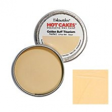 Enkaustikos Hot Cakes! - 1.5oz (45ml) - Golden Buff Titanium