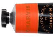 Charvin Extra-Fine Artists' Acrylic Paints 60 ml Paint Tube - Diamond Orange