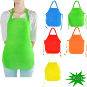 YazyCraft Young Picasso Artist 's Painting Apron 10 pcs assorted colour