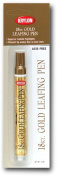 18 Kt. Gold Leafing Pen Provides Beautiful Highlights For Art, Craft And Home Projects!
