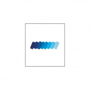 Schmincke Mussini Resin Oil Colour Translucent Cyan 35ml tube