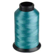 Nymo® Nylon Seed Bead Thread Size D Turquoise 0.012 Inch 0.34mm, 90ml spool, approximately 2505 yards.
