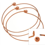 Copper Plate Wire Beading Bracelet With Ball Add A Bead