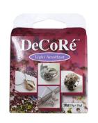 Decore' Light Amethyst Purple Self-hardening, Jewellery Craft Two-part Epoxy Clay Kit, 20 Grammes