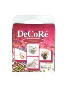 Decore' Fuchsia Self-hardening, Jewellery Craft Two-part Epoxy Clay Kit, 20 Grammes