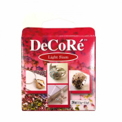 Decore' Light Siam Red Self-hardening, Jewellery Craft Two-part Epoxy Clay Kit, 20 Grammes