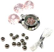 Fiona Crystal 091116-10 Spinner Charm Bracelet Kit